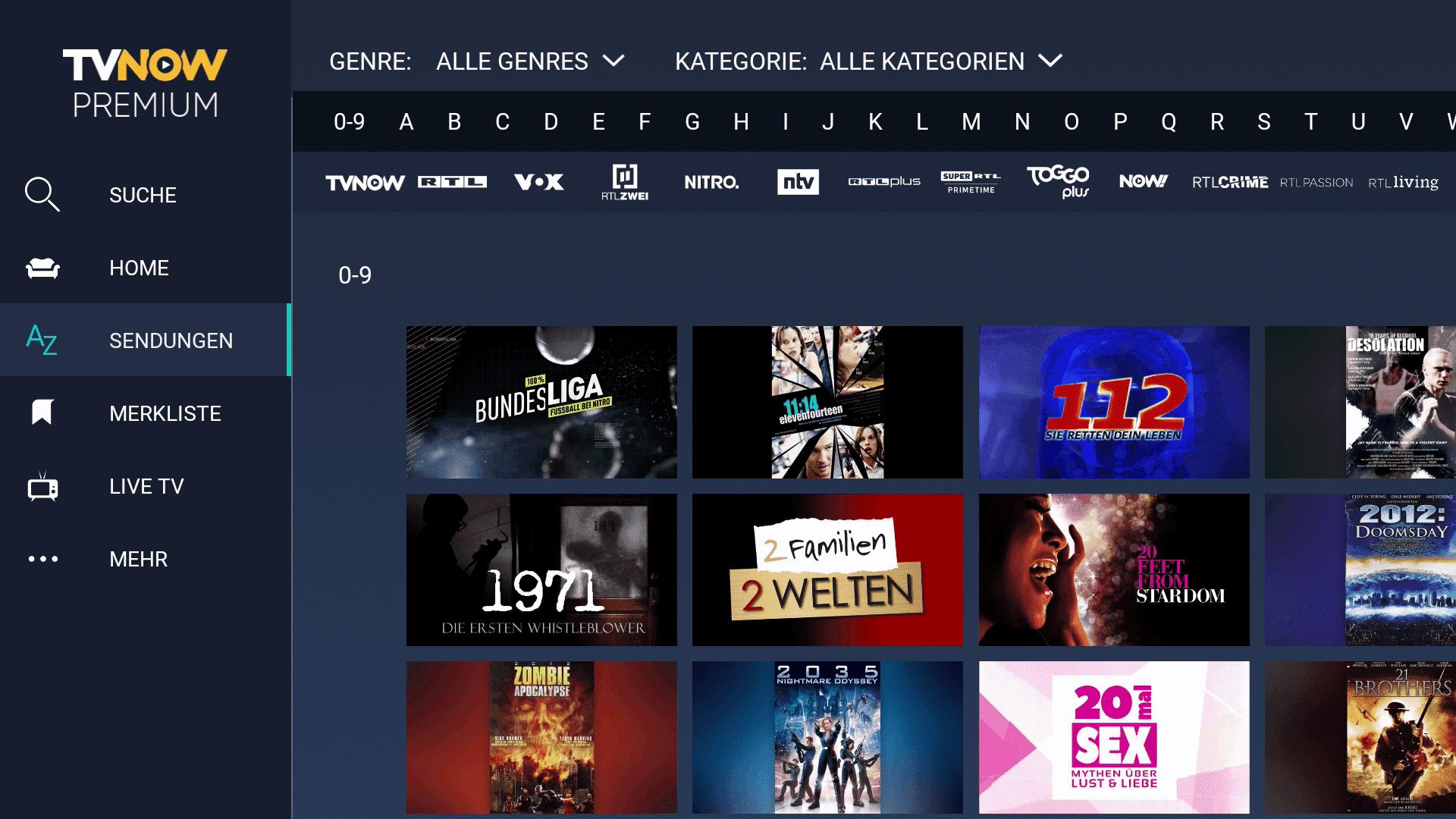 Inhalte von RTL auf Fire TV Stick kostenlos sehen