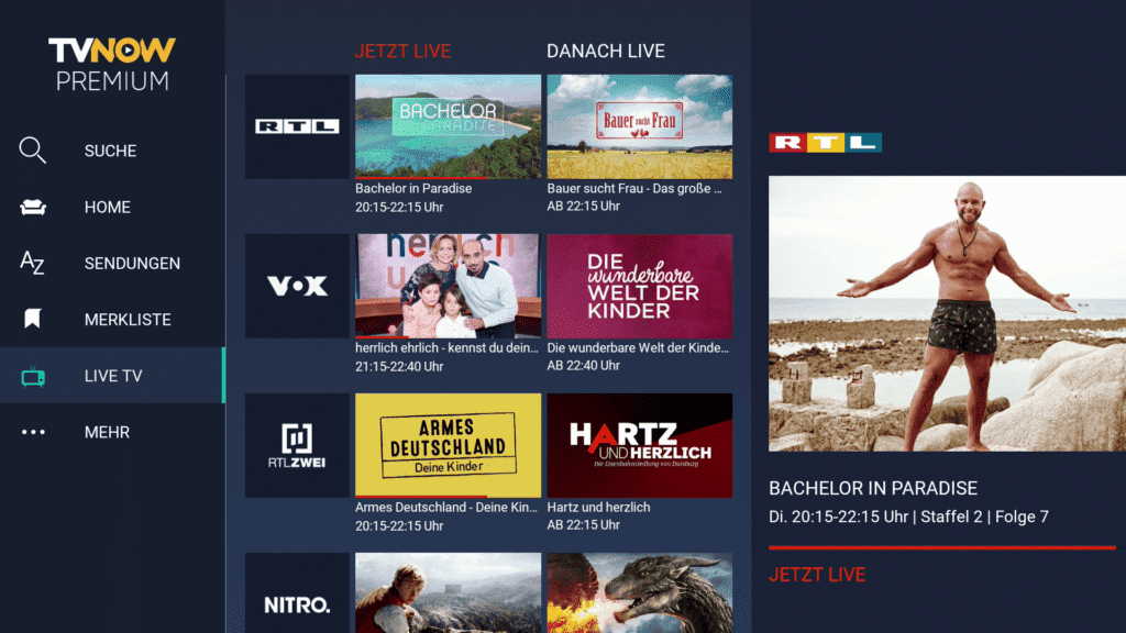 RTL Live TV Fire TV Stick