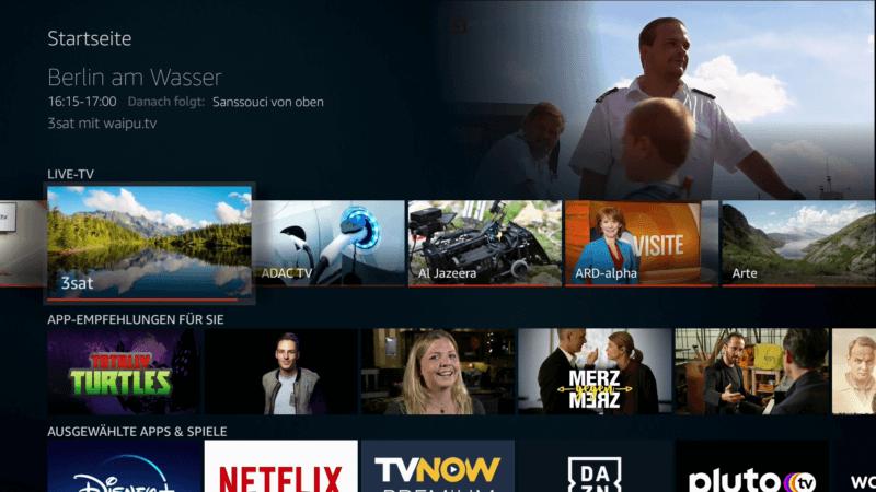 Amazon Fire TV Stick Sender Vorschau