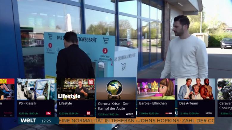 Waipu TV verbessert Fire TV App