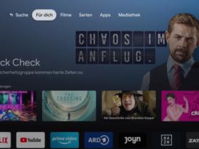 Chromecast mit Google TV Apps