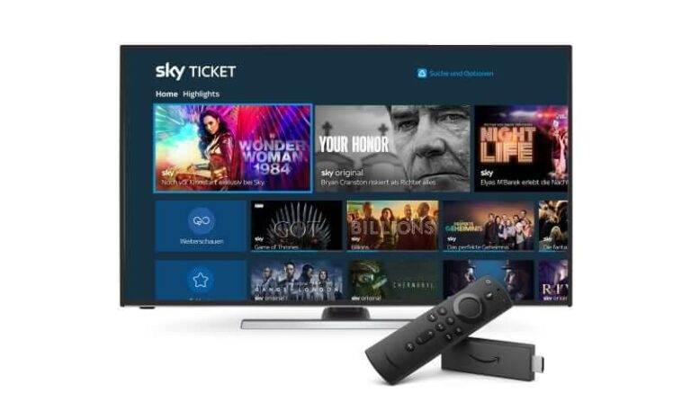 Sky Ticket Fire TV
