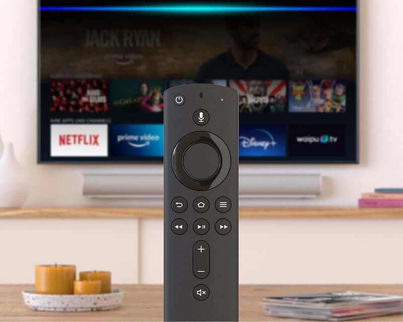 Fire TV Fernbedienung und Oberfläche