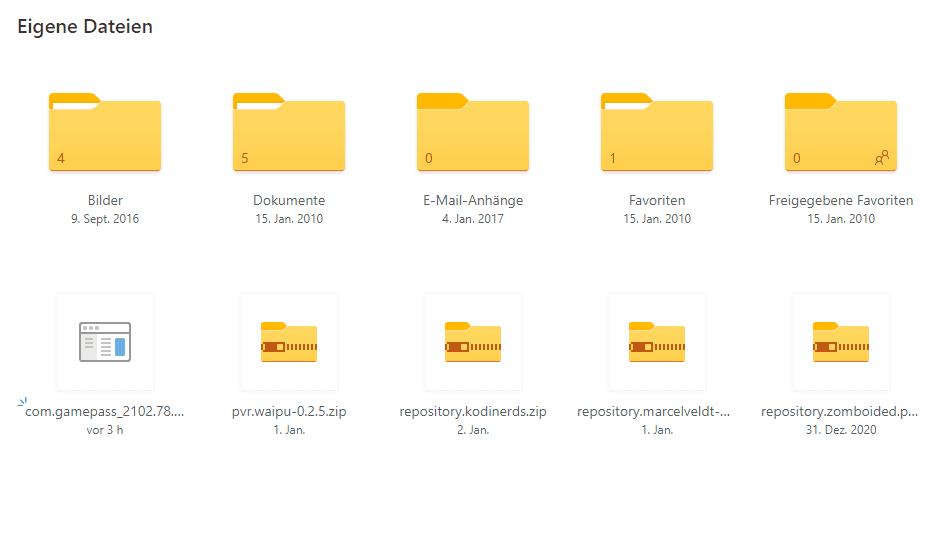 Datei in Cloud hochladen