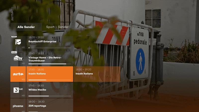 Arte über die Joyn App für Fire TV