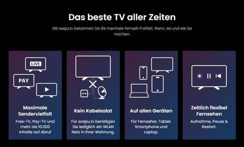 Funktionsweise waipu.tv