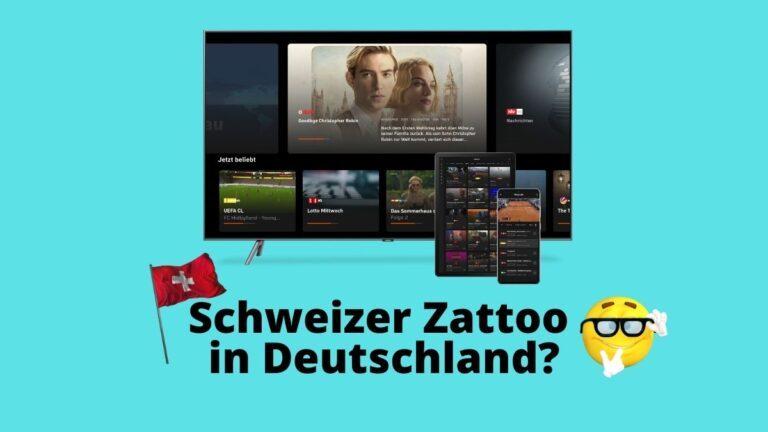 Zattoo Schweiz in Deutschland